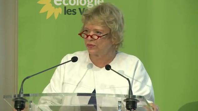 Eva Joly lors du Congrès EELV du 17 décembre 2012