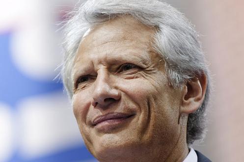 De Villepin croit en la victoire aux élections 2012