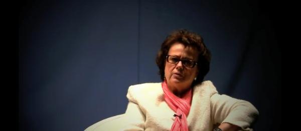 Christine Boutin, candidate à la présidentielle 2012