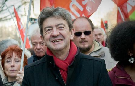 Jean-Luc Mélenchon candidat aux présidentielles de 2012