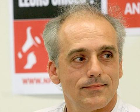 Candidat NPA aux présidentielles, Philippe Poutou