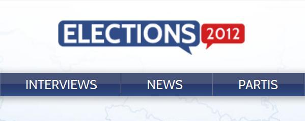 Chaine Youtube des élections présidentielles de 2012