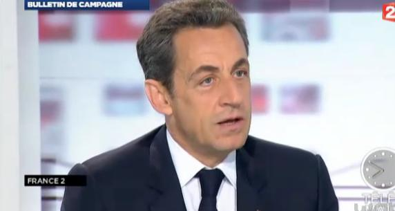Sarkozy au second tour en interview sur France 2