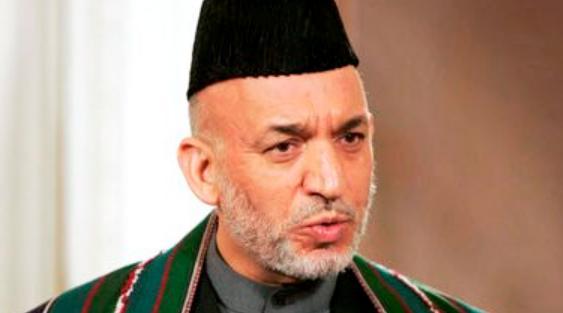 Le président Afghan Karzaï