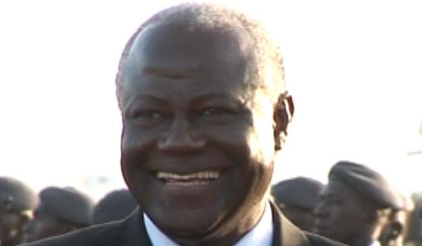Ernest Bai Koroma, président de Sierra Leone