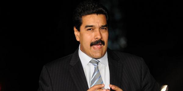 Nicolas Maduro, candidat à la présidentielle du Venezuela