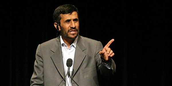 Mahmoud Ahmadinejad, président de l'Iran