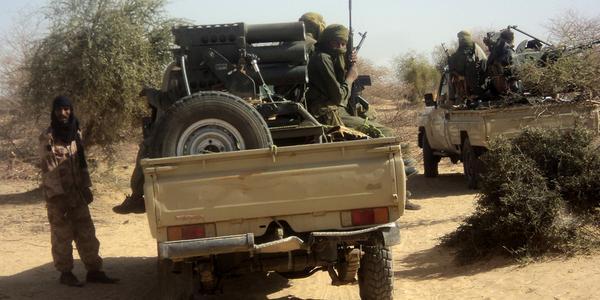 Djihadistes dans le nord du Mali