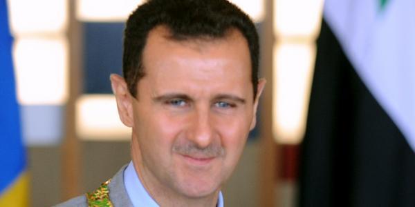 Bachar el-Assad, le dictateur syrien