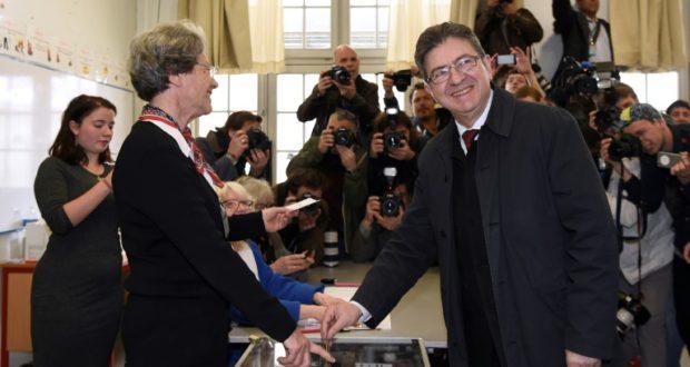 Jean luc m lenchon a vot paris elections - Dates elections presidentielles france ...